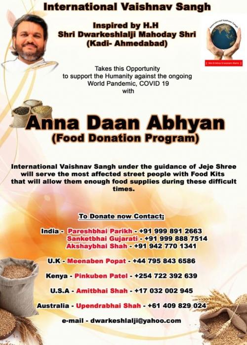 Je Je Food Donation Programme