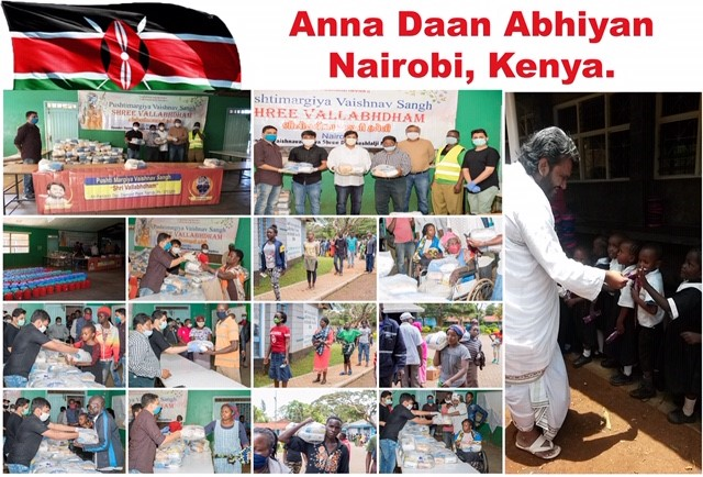 VSUK Food Donation Kenya